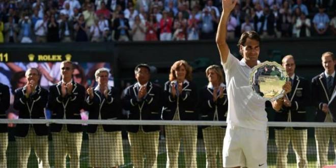 Federer Wimbledon Final 2014