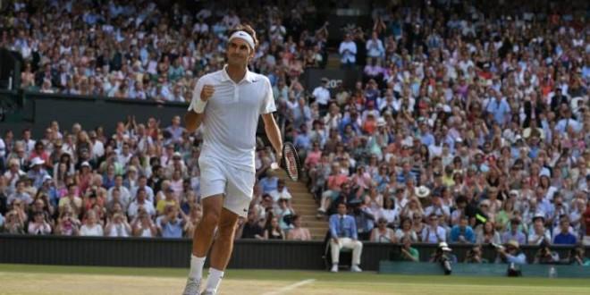 Federer def Raonic Wimbledon 2014