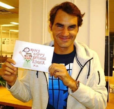Federer 33rd Birthday