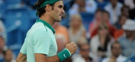 Federer Beats Monfils Cincy 2014
