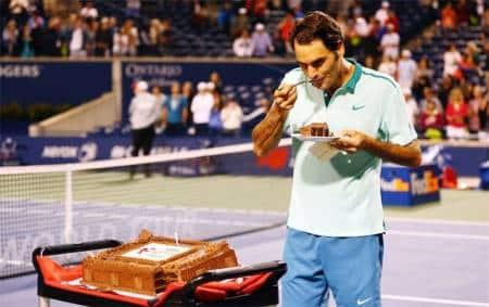 Federer Birthday Cake