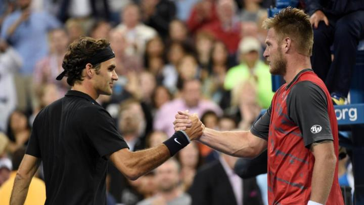 Federer Defeats Groth US Open 2014