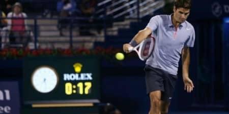 Federer Granoller Dubai 2013