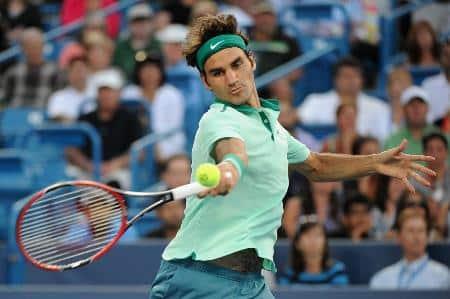 Federer Laser Forehand