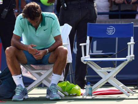 Federer Loses to Tsonga Roger's Cup