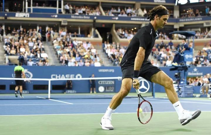 Federer Matosevic US Open 2014