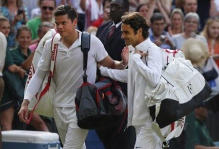 Federer Raonic