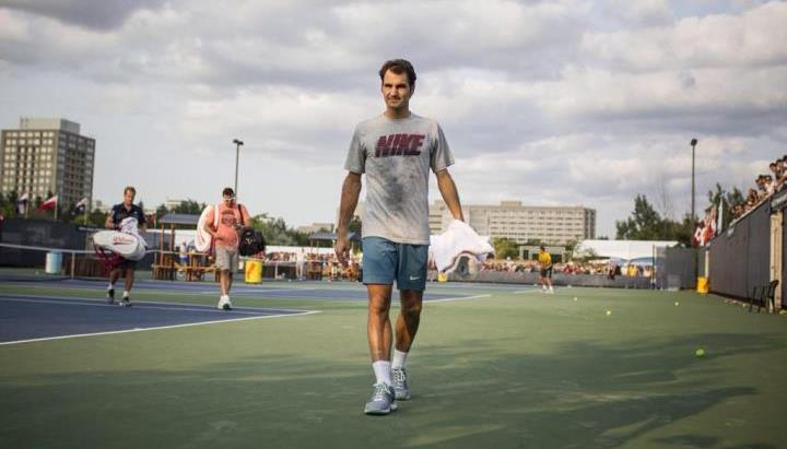 Photo of Federer Fan Story: @KJOttawa at the Roger's Cup 2014