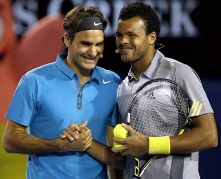 Federer Tsonga Charity Match