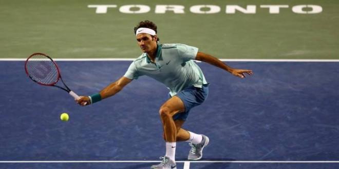 Federer Volley vs Ferrer Toronto 2014