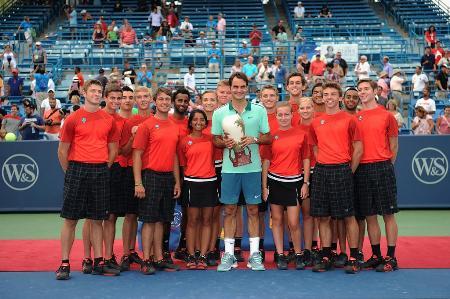 Federer Wins Cincinnati 2014
