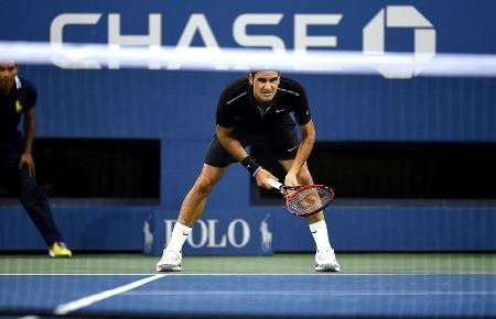 Federer defeats Matsoevic US Open