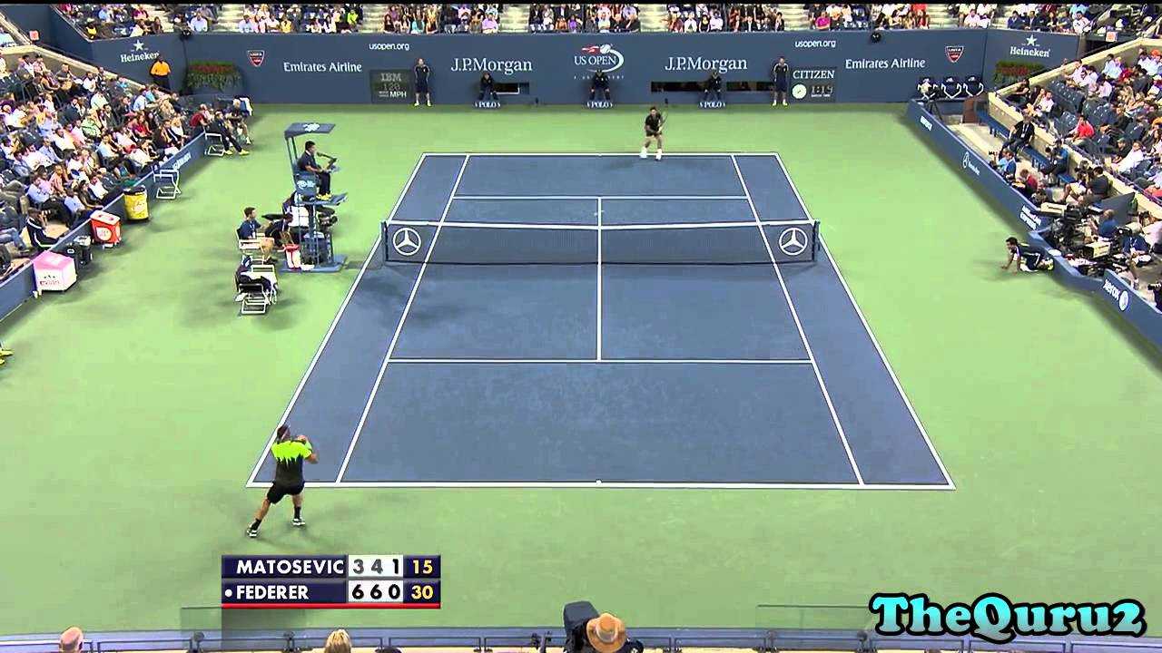 a29e781c15dfd Federer Makes Winning Start at US Open - peRFect Tennis