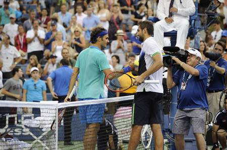 Cilic defeat Federer