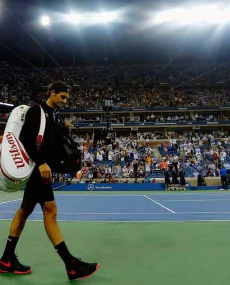 Darth Federer vs Monfils