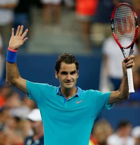 Federer 3rd Round USO 2014