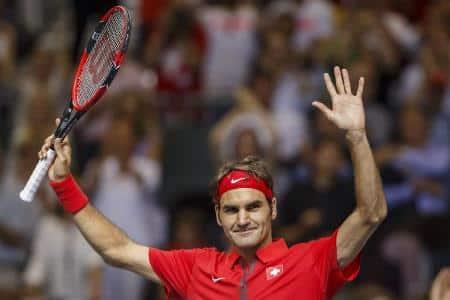 Federer Davis Cup vs Italy