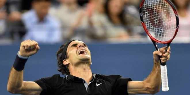 Federer Defeats Monfils US Open