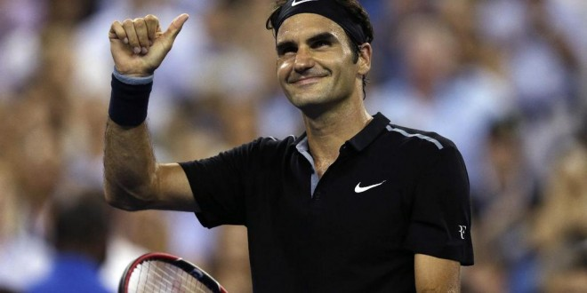 Federer Dispatched Bautista Agut US Open