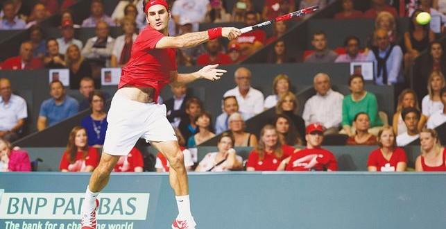 Federer Fan Story Davis Cup vs Italy