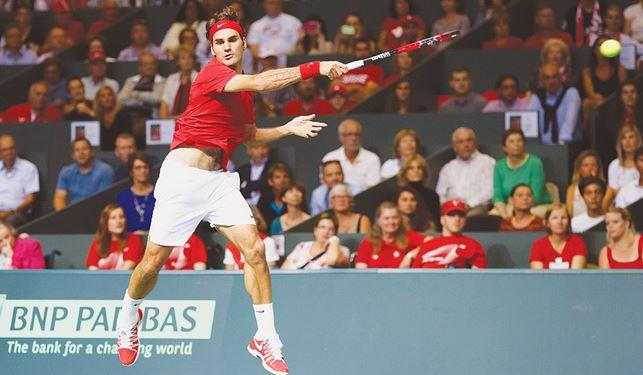 Photo of Federer Fan Story: Simon in Geneva for Switzerland vs. Italy