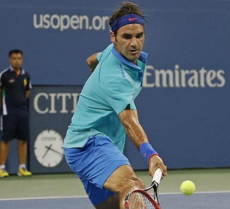Federer Humid Conditions NYC 2014