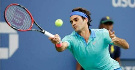 Federer Struggling on Return vs Cilic