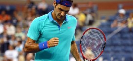 Federer defeats Granollers US Open 2014