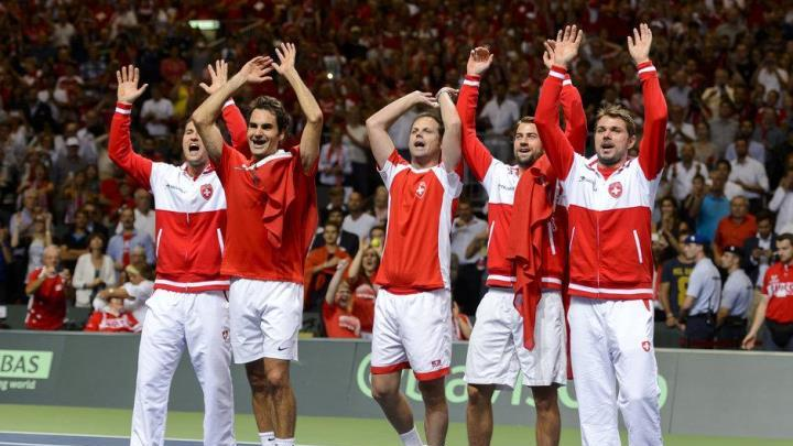 Photo of Federer Defeats Fognini as Swiss Make Davis Cup Final