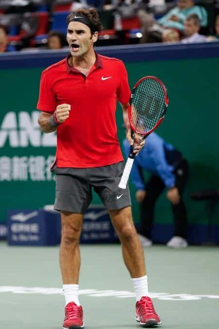 Federer Allez Djokovic Shanghai 2014