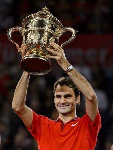Federer Basel Win 2014