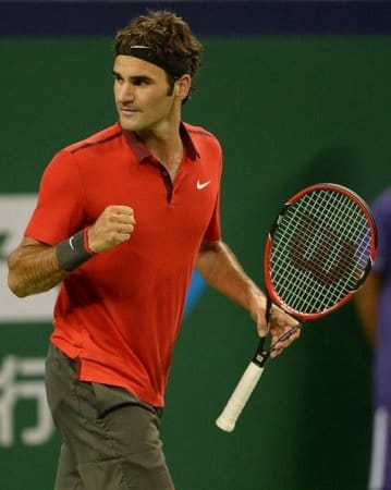 Federer Beats Mayer
