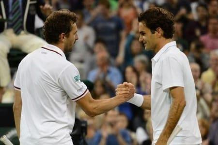 Federer Benneteau Wimbledon 2012