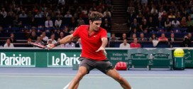 Federer Defeat Chardy Paris