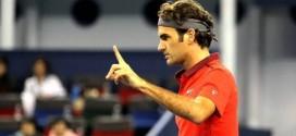 Federer Defeat Mayer Shanghai 2014