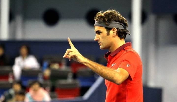Photo of Federer Saves 5 Match Points En Route To Shanghai Win vs Mayer