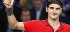 Federer Defeats Pouille Bercy