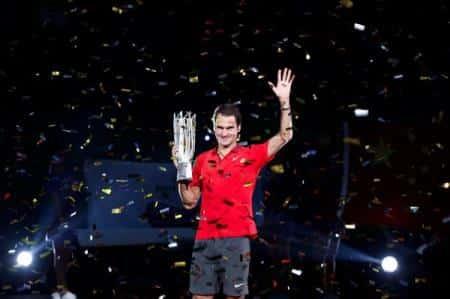 Federer Shangai Trophy