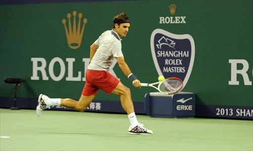 Federer Shanghai Draw 2014