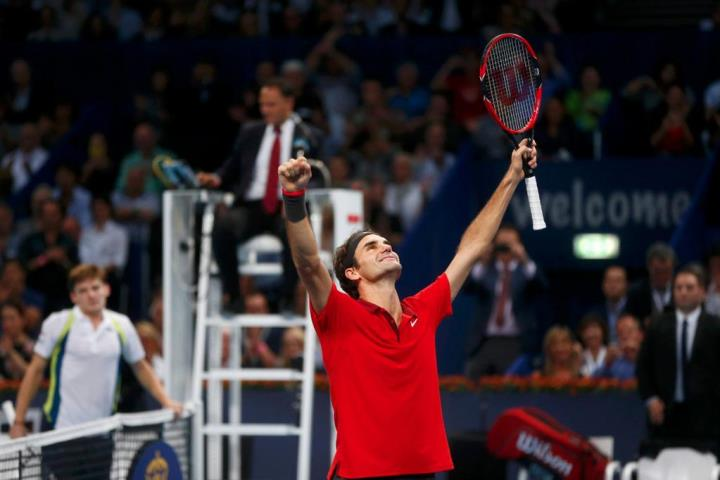 Federer Wins 6th Basel Title