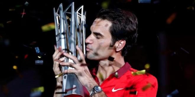 Federer Wins Shanghai Masters 1000 Title