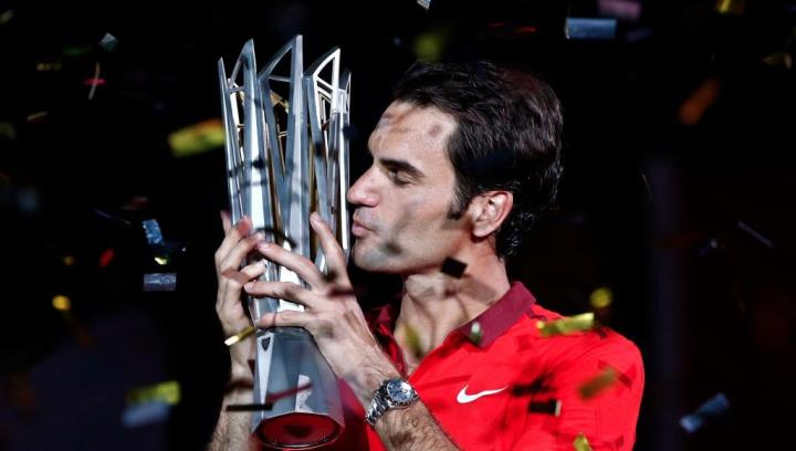 Photo of Federer Takes Down Simon to Win First Shanghai Masters 1000 Title