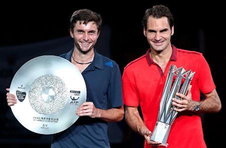 Federer and Simon in Shanghai