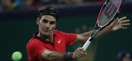 Federer defeats Agut Shanghai