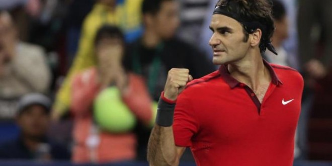 Federer takes down Djokovic Shanghai 2014