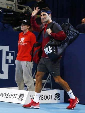 Federer vs Muller Basel