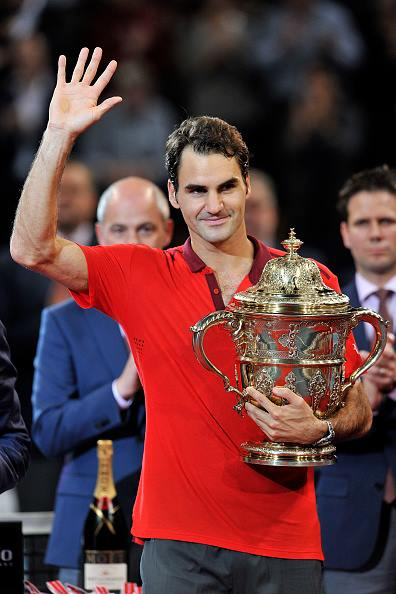 Federer with Basel Title