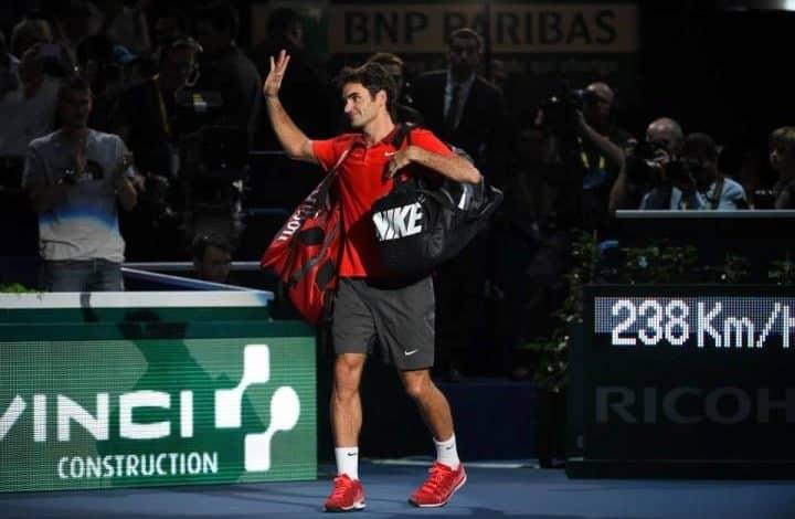 Raonic defeat Federer Bercy