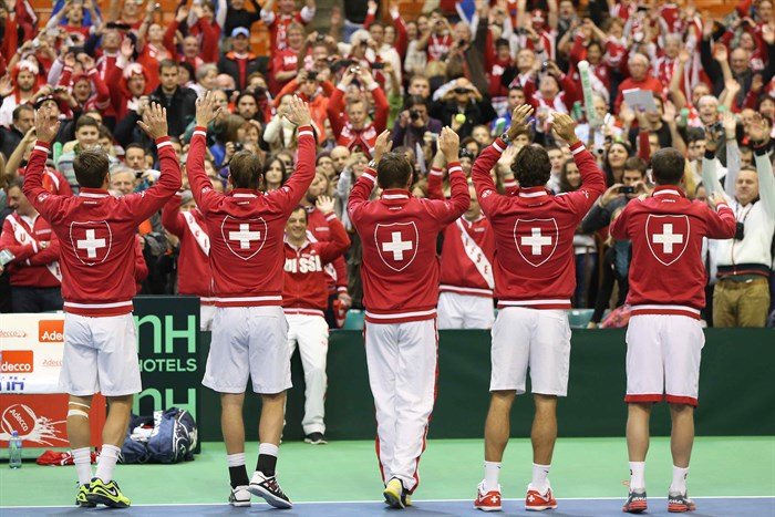 Swizterland vs Serbia Davis Cup Fan Story
