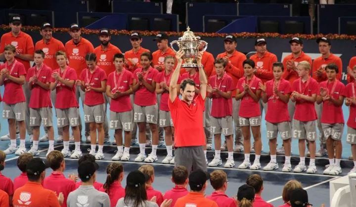 Photo of Federer Fan Story: Phantom at the Swiss Indoors 2014